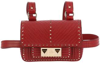 Valentino GARAVANI Mini Bag Ziggy Spike Mini Bag In Quilted Leather With Metal Studs And Shoulder Strap