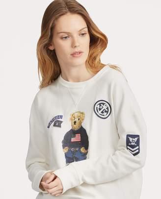 Ralph Lauren Patchwork Polo Bear Pullover