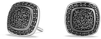 David Yurman Albion Earrings with Black Diamonds