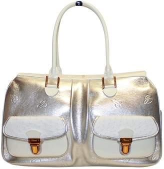 Chopard Silver Leather Handbag