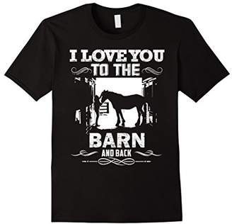 To The Barn And Back Horse Lover Riding Gifts Shirt