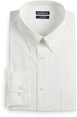 Croft & Barrow Men's Regular-Fit No-Iron Stretch Dress Shirt
