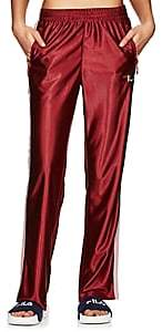 Fila Women's Logo Sparkly-Striped Pants - Red