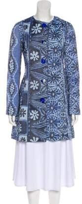 Desigual Collarless Short Coat