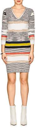 Missoni Women's Striped Cashmere Fitted Sweaterdress