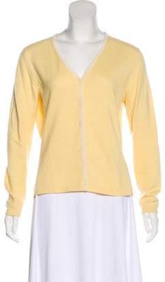 Loro Piana Button-Up Knit Cashmere Cardigan