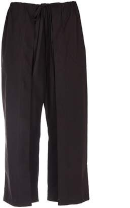 Aalto Satin Cropped Trousers