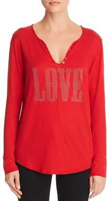 Aqua Love Embellished Henley - 100% Exclusive