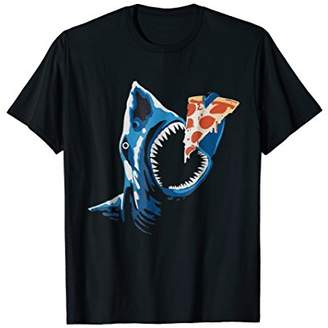 Shark eating pizza T-Shirt