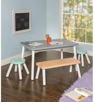 Isa Belle Isabelle & Max Liggins Kids 4 Piece Activity Table and Chair Set Isabelle & Max