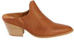 EOS NEW Womens Heels Prissy Leather Heel Brandy