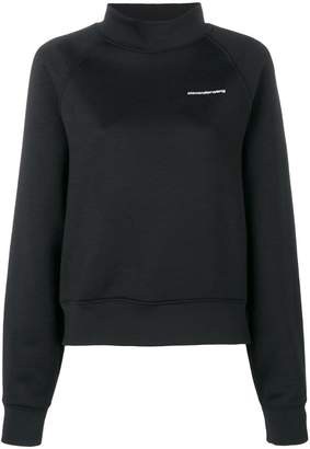 Alexander Wang funnel neck sweatshirt