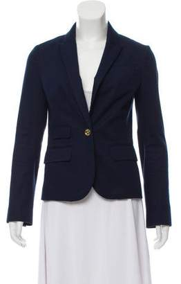Tory Burch Peaked Lapel Knit Blazer