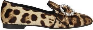 Dolce & Gabbana Leopard Print Loafers