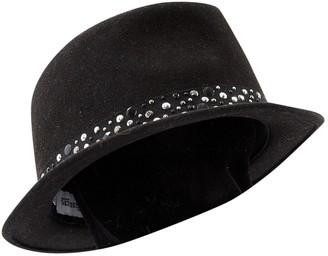 Maison Michel Wool hat