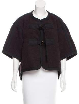 Chloé Buckle-Accented Jacket