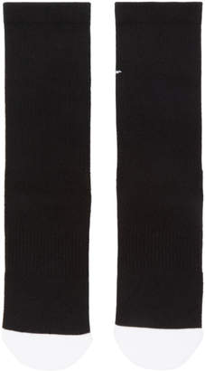 Nike Two-Pack Black and WhiteJust Do It Socks
