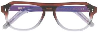 Cutler & Gross oval frame glasses