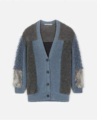 Stella McCartney Fur Free Fur Cardigan