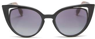Fendi Floating Cat Eye Sunglasses, 51mm $450 thestylecure.com