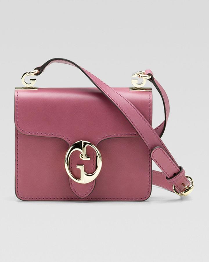 Gucci 1973 Small Shoulder-Flap Bag