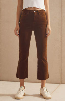 Pacsun Sienna Cropped Flare Jeans
