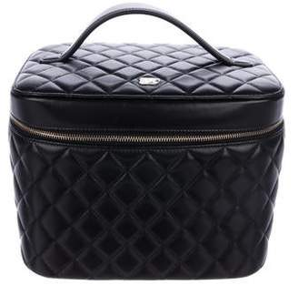 Chanel 2016 Quilted Lambskin Vanity Case