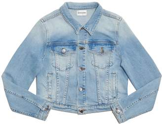 Cotton Citizen Women's Crop Denim Jacket - Light Vintage