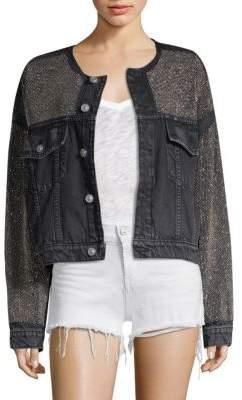 Hudson Rei Embellished Denim Jacket