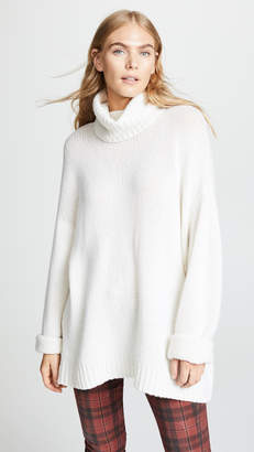 R 13 BF Cashmere Turtleneck