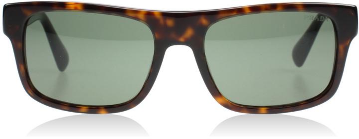 Prada 18PS Sunglasses Tortoise 2AU0B2