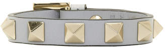 Valentino Grey Garavani Single Rockstud Bracelet