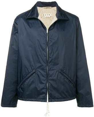 Marni lightweight contrasting back jacket