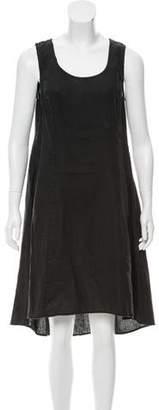 Neiman Marcus Linen A-Line Dress