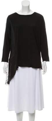 Fabiana Filippi Cashmere-Silk Turtleneck Sweater