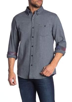 Weatherproof Long Sleeve Regular Fit Flannel Shirt