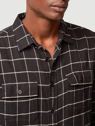 Frame Long Sleeve Double Flap Pocket Shirt