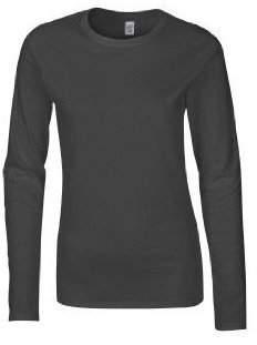 Gildan Womens Soft Style Cotton Long Sleeve tshirt