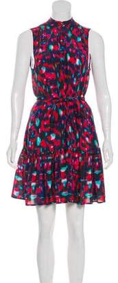 Saloni Sleeveless Mini Dress
