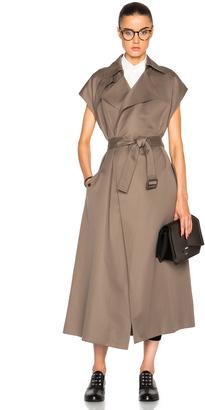 Helmut Lang Trench Vest Coat $860 thestylecure.com