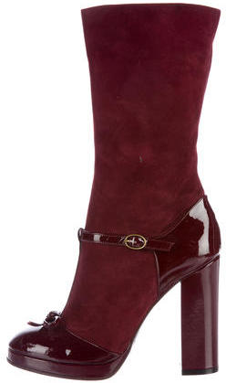 Marc By Marc JacobsMarc by Marc Jacobs Suede Mid-Calf Boots