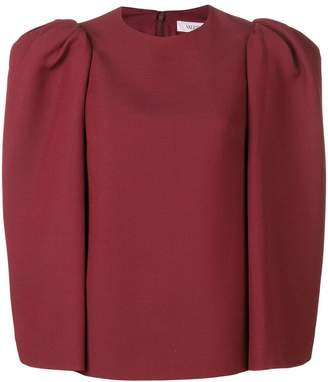 Valentino structured blouse