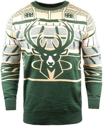 Forever Collectibles Men Milwaukee Bucks Bluetooth Sweater