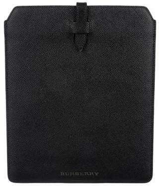 Burberry Grained Leather iPad Case