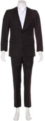 Dolce & Gabbana Striped Wool Suit