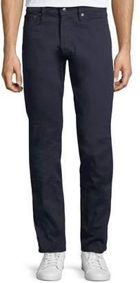 Ralph Lauren 5-Pocket Slim-Leg Washed-Denim Jeans