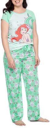 DISNEY PRINCESS Disney Princess 2-pc. Hearts Pant Pajama Set