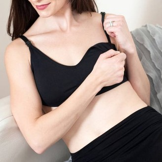 Labor of Love Maternity Essential Seamless Nursing Bra with Removable Pads