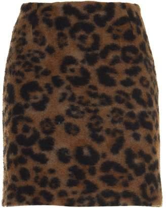Dondup Leopard Skirt