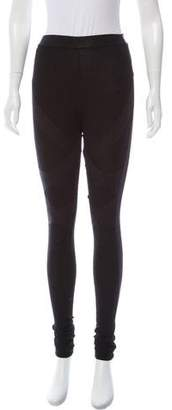 Markus Lupfer High-Rise Knit Leggings